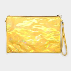 • Hologram Crossbody Clutch Bag